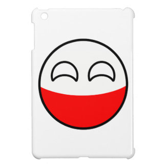 Funny Trending Geeky Poland Countryball iPad Mini Covers