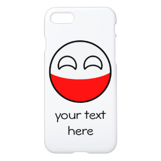 Funny Trending Geeky Poland Countryball iPhone 8/7 Case