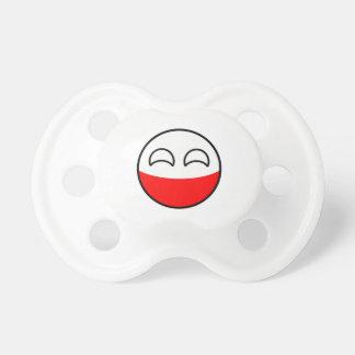 Funny Trending Geeky Poland Countryball Pacifier