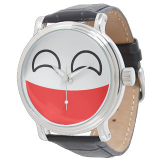 Funny Trending Geeky Poland Countryball Watch