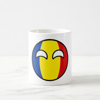 Funny Trending Geeky Romania Countryball Coffee Mug