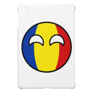 Funny Trending Geeky Romania Countryball iPad Mini Case