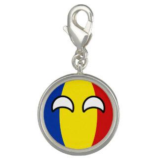 Funny Trending Geeky Romania Countryball Photo Charm