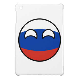 Funny Trending Geeky Russia Countryball Case For The iPad Mini
