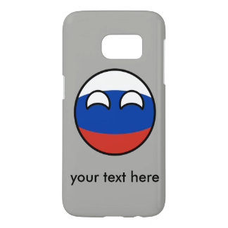 Funny Trending Geeky Russia Countryball Samsung Galaxy S7 Case