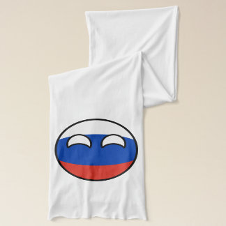 Funny Trending Geeky Russia Countryball Scarf