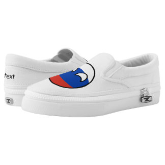 Funny Trending Geeky Russia Countryball Slip-On Sneakers