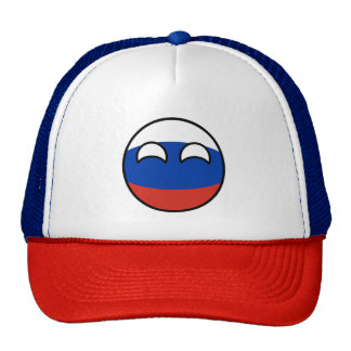 Funny Trending Geeky Russia Countryball Trucker Hat