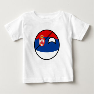 Funny Trending Geeky Serbia Countryball Baby T-Shirt