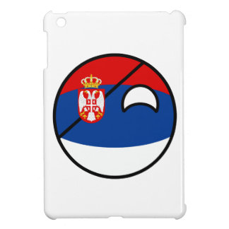 Funny Trending Geeky Serbia Countryball Case For The iPad Mini