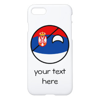 Funny Trending Geeky Serbia Countryball iPhone 8/7 Case