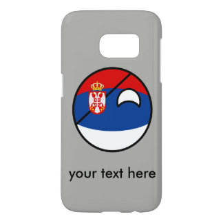 Funny Trending Geeky Serbia Countryball Samsung Galaxy S7 Case