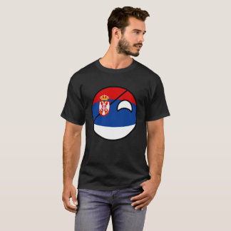 Funny Trending Geeky Serbia Countryball T-Shirt