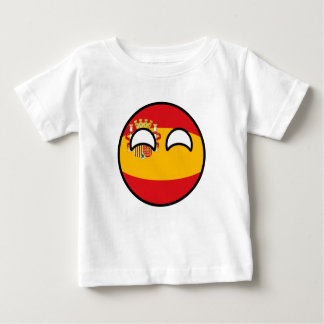 Funny Trending Geeky Spain Countryball Baby T-Shirt