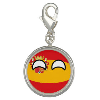 Funny Trending Geeky Spain Countryball Charms