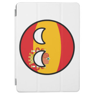 Funny Trending Geeky Spain Countryball iPad Air Cover
