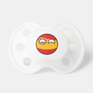Funny Trending Geeky Spain Countryball Pacifier