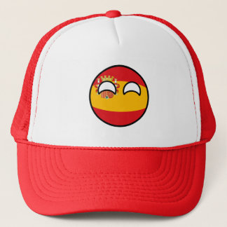 Funny Trending Geeky Spain Countryball Trucker Hat