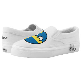 Funny Trending Geeky Sweden Countryball Slip-On Sneakers