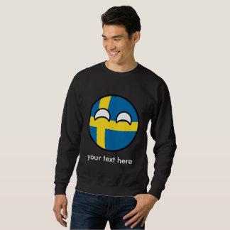 Funny Trending Geeky Sweden Countryball Sweatshirt