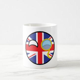 Funny Trending Geeky United Kingdom Countryball Coffee Mug