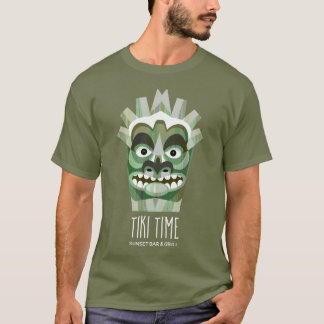 Funny Tribal Tiki Beach Party T-Shirt
