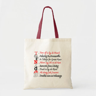 Funny Trini Description 3 Tote Bag
