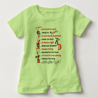 Funny Trini Description-Baby Romper