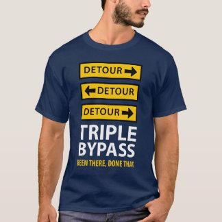 Funny Triple Bypass Heart Surgery Survivor T-Shirt