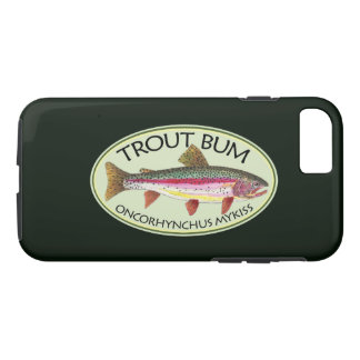 Funny Trout Bum Fisherman's iPhone 8/7 Case