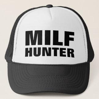 "Funny Trucker Hat: ""MILF HUNTER"" Trucker Hat"