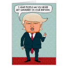 Funny Trump Fake News Card