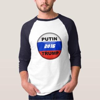 funny Trump Satirical Russian 3/4 T-Shirt 2016