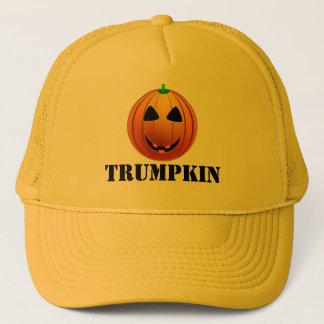 Funny Trump Trumpkin pumpkin Halloween Trucker Hat