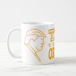 Funny Trump University Orangemen Athletic Teams Classic White Coffee Mug