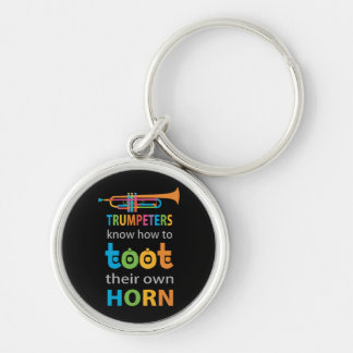 Funny Trumpet Keychain