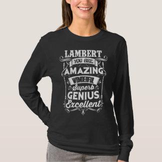 Funny TShirt For LAMBERT