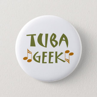 Funny Tuba Geek Gift 2 Inch Round Button