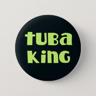 Funny Tuba King Button