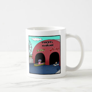Funny Tunnel Of Marriage Mug Gift