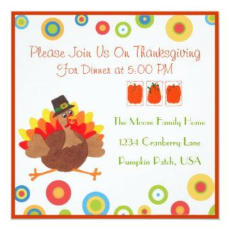 Funny Turkey Thanksgiving Dinner