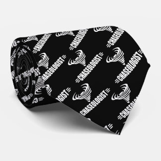 Funny Twister Storm Chaser Weather Geek Tie