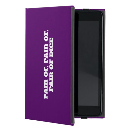 Funny typographic misheard song lyrics cover for iPad mini