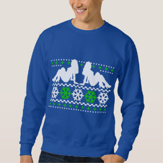 Funny! Ugly Christmas Sweater with Chicks