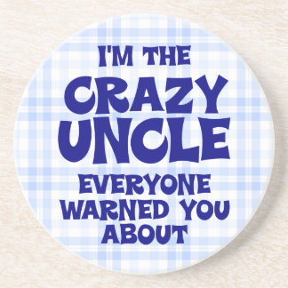 Funny Uncle Gift Coaster