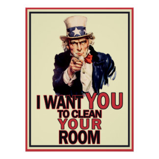 Funny Uncle Sam Poster