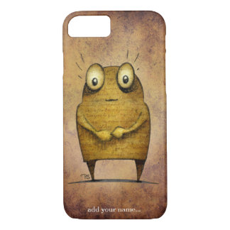 Funny Undroid Robot iPhone 7 Case