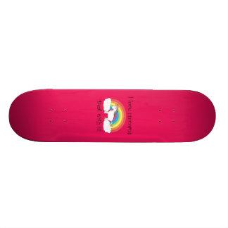 Funny unicorn gifts skateboards