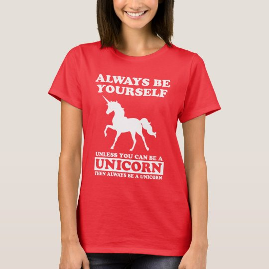 FUNNY UNICORN T-SHIRT