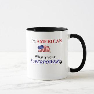 Funny USA Superpower Mug! Mug